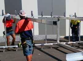 fall prevention systems installation
