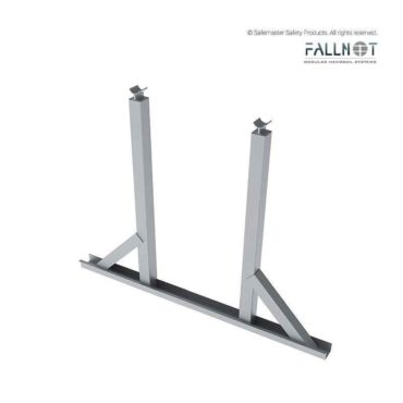 Double Guardrail Post Kit with Walkway Support