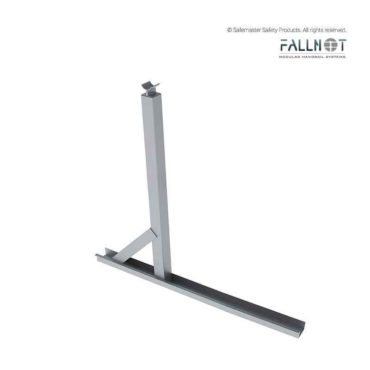 Single Guardrail Post Kit with Walkway Support
