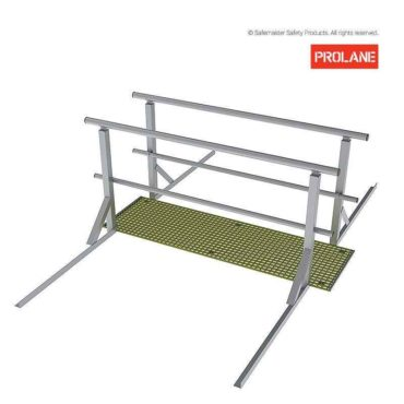 MLS304: 2.0M Ladder Head Access Fibre Walkway/Guardrail Kit