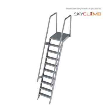 Step Ladder with Landing