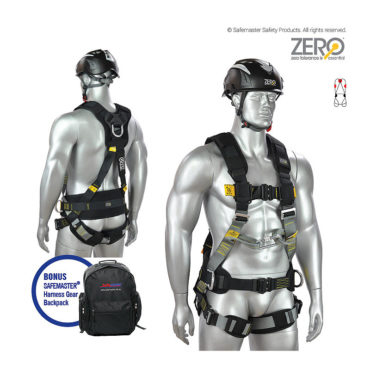 work positioning construction harness