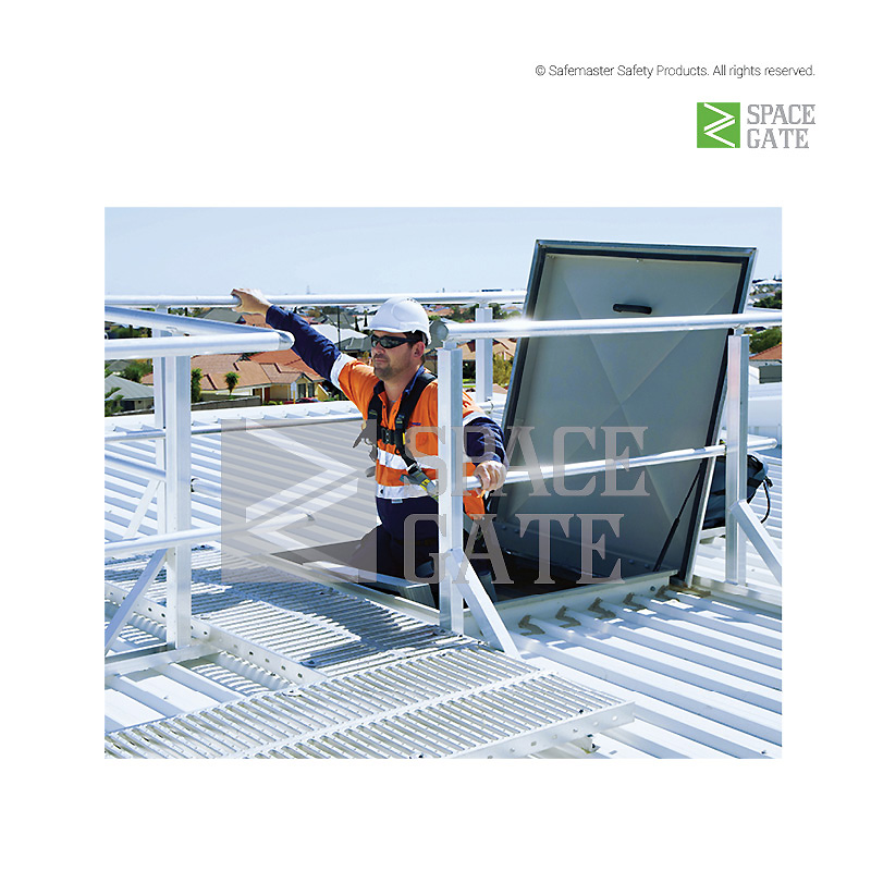 Spacegate Roof Access Hatch Industrial Commercial Rated
