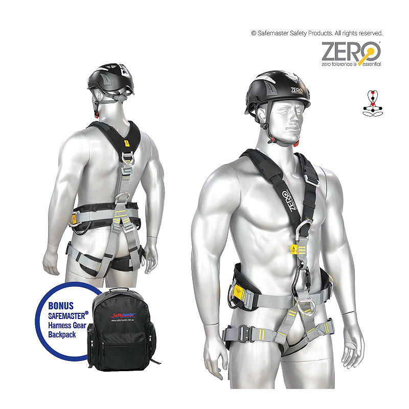 Abseil Harness for Specialist Rope Access and Work Positioning