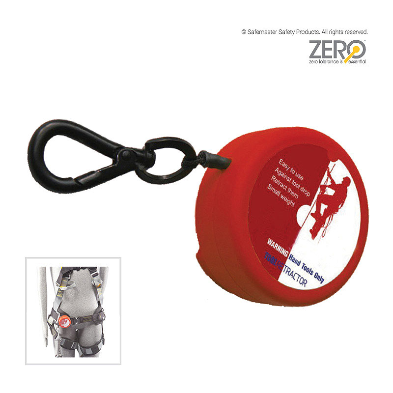 Retractable Tool Lanyard - Ideal for Working at Heights