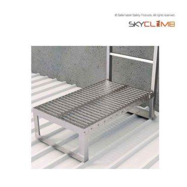 Adjustable Ladder Base Support Platform