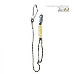 single adjustable rope lanyard
