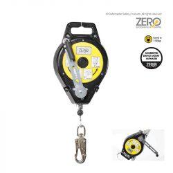 retractable type 3 inertia reel/rescue winch