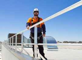 height safety systems- lakelands shopping centre