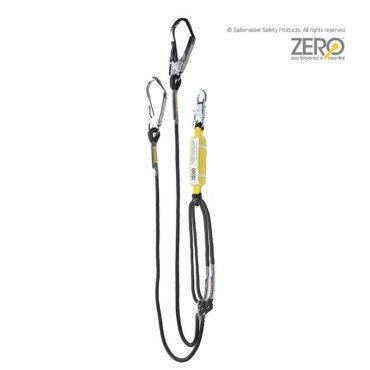 double adjustable rope lanyard