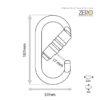 Safemaster-ZERO_Triple_Lock_Oval_Karabiner_PJ-501T_spec