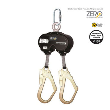twin retractable lanyard