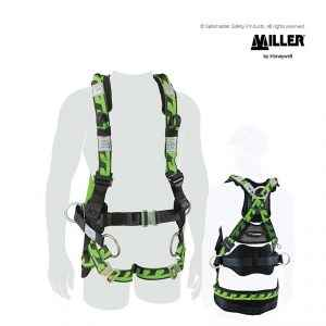 miller aircore tower worker soft loop harness