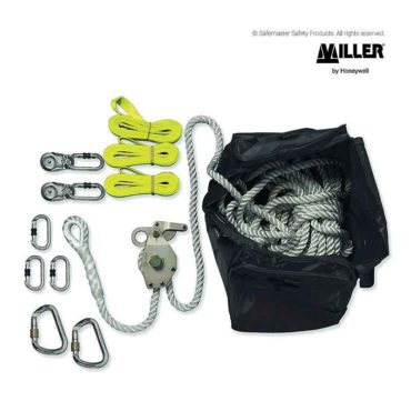miller rope temporary static line