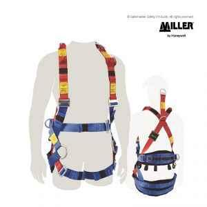 miller tower worker harness