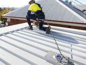 permanent roof anchor