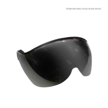 apex half face smoke mirror visor