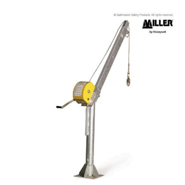 miller davit base and arm system