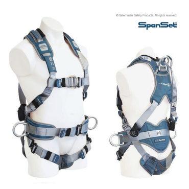 spanset premium full body pole harness 1107 ergo iplus