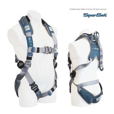 premium full body harness with dorsal attachment 1104 ERGOiPLUS