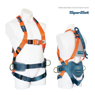 1300 ERGO Full Body Fall Arrest Harness with Padded Waist Band & Side D-Rings
